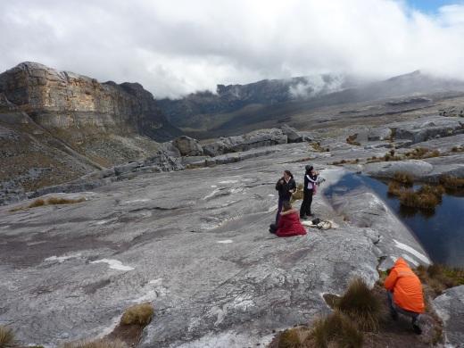 Around 4200 meters up