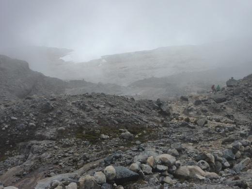 My glimpse of the second glaciar